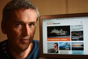 Thomas Nilsen, the editor of the Independent Barents Observer. (Photo: Courtesy of the Independent Barents Observer).