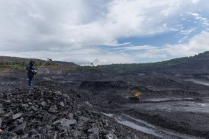 An open pit coal mine in the Kuzbass Region. (Photo: John Webster)