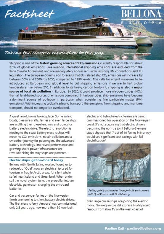 Factsheet front
