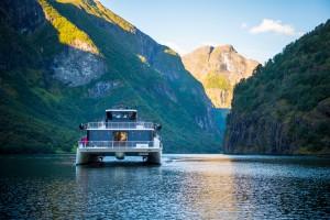 'Vision of the Fjord' catamaran