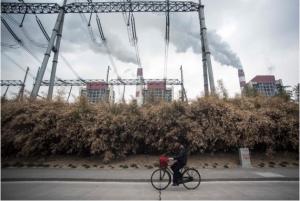 A coal plant in Shanghai