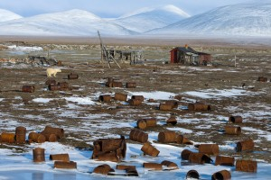 Russia's Arctic regions are struggling with decades of abandoned junk.