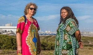 Liz McDaid, left, and Makoma Lekalakala, who stopped a secret Russian nuclear deal with South Africa.