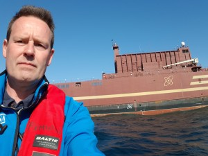 nils at Akademik Lomonosov