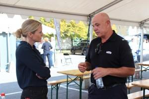 Christina Ianssen interviews Arne Billkvam who drives an electric taxi