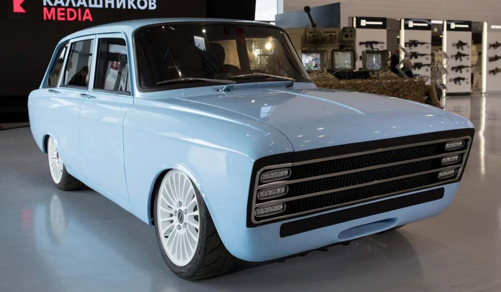 kalashniov electric car