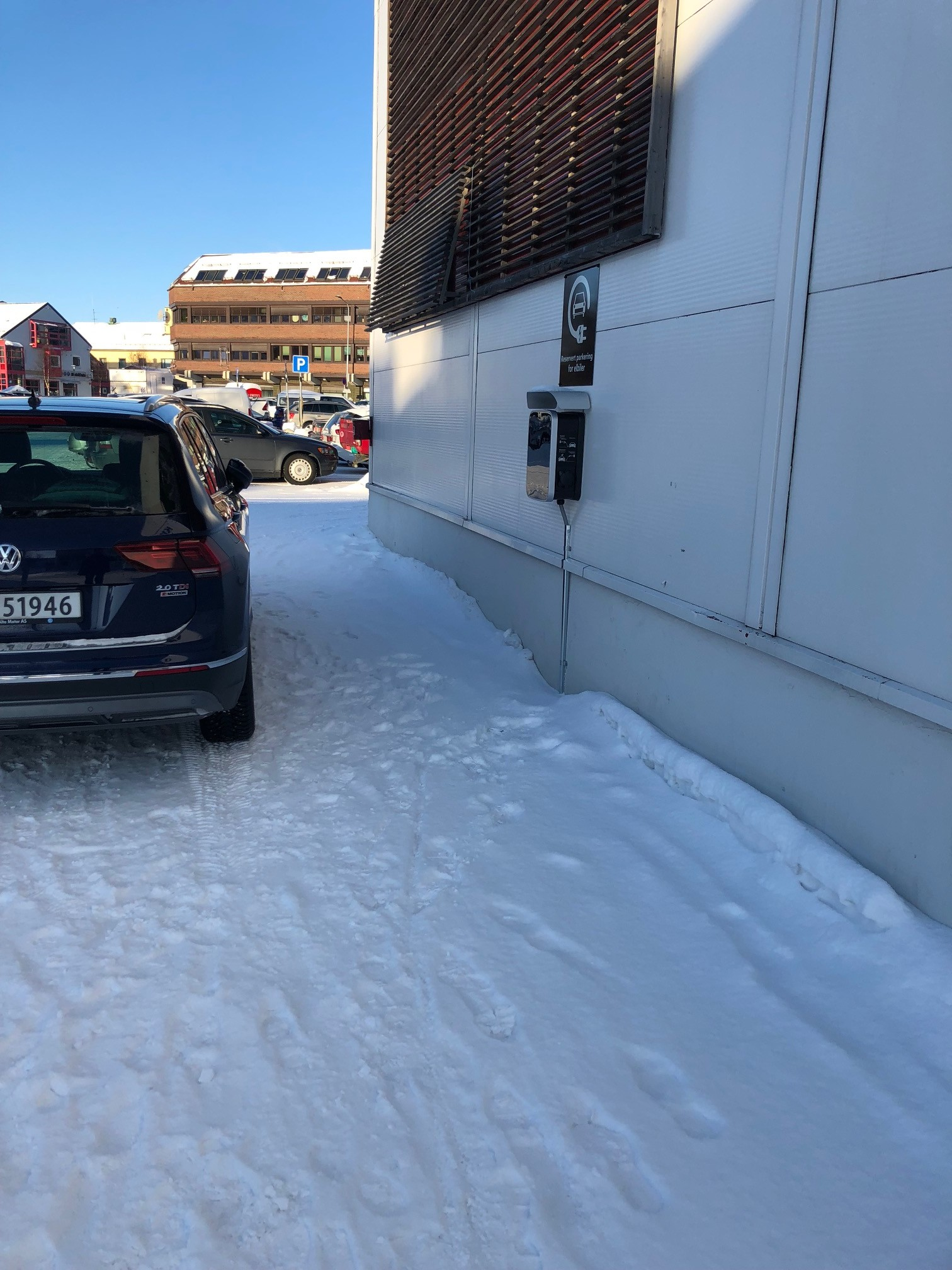 Northern Norway Finally Catching Up With E Car Charging