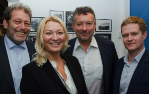 Frederic Hauge: General Manager, Erle Kristin Wagle,  Strategy and Organizational Development Pierre Herben, Research, Technology and Innovation and Pål Brun, Business Development and Finance
