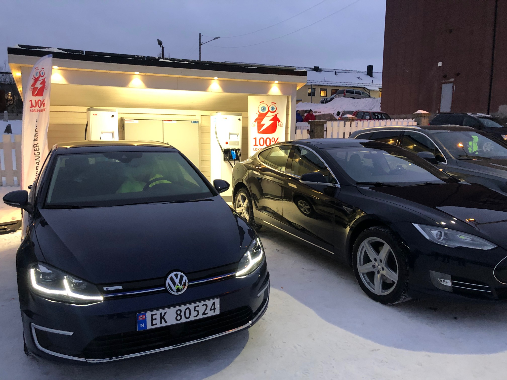 Electric Car Charger Kirkenes