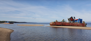 irradiated barge 3
