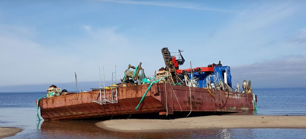 irradiated barge 2