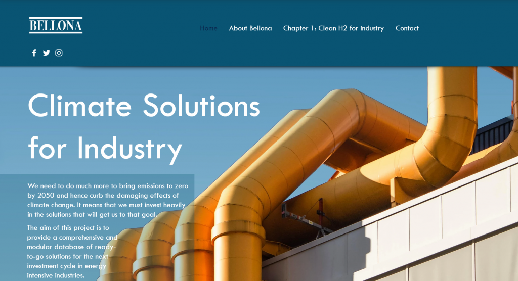 Climate solutions web