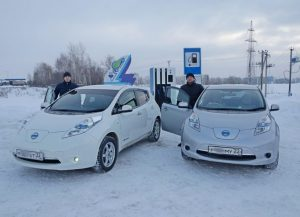 electric car siberia
