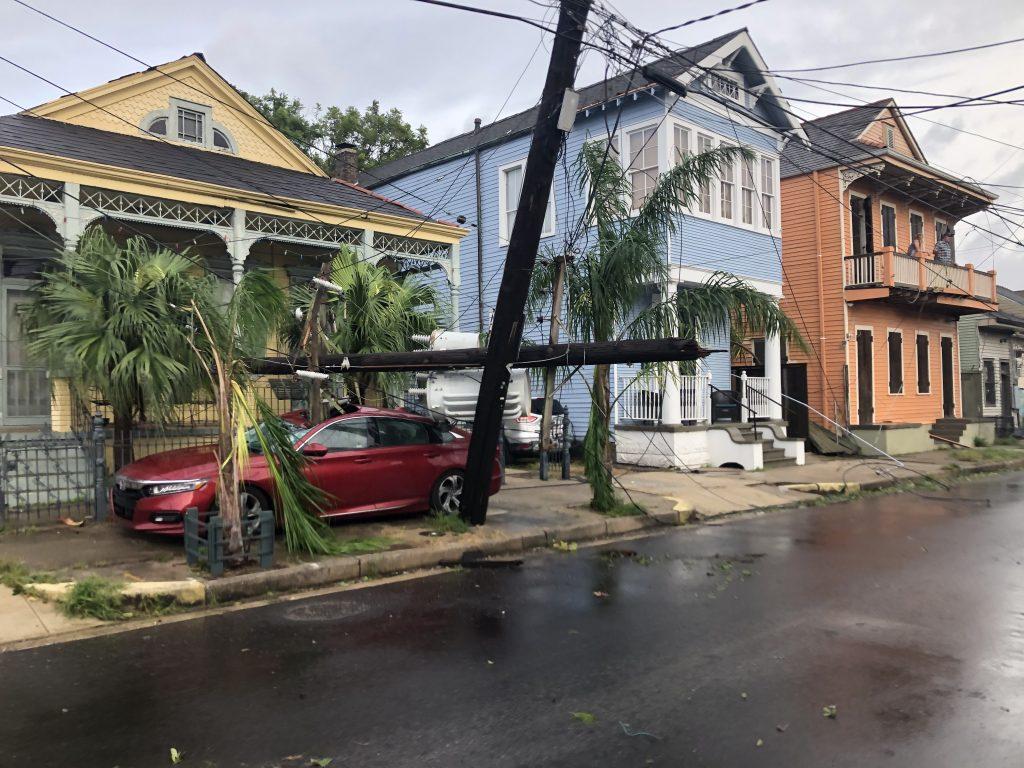 New orleans Ida Hurricane !