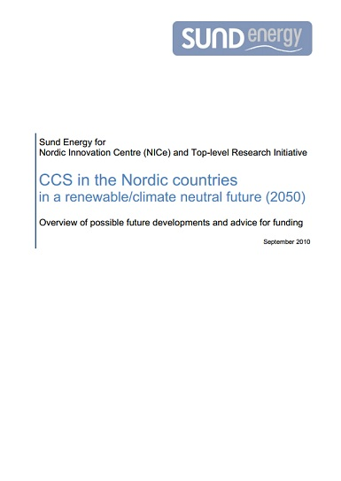 CCS_in_the_Nordic_countries