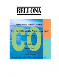CO2 for Enhanced Oil Recovery on the Norwegian Shelf