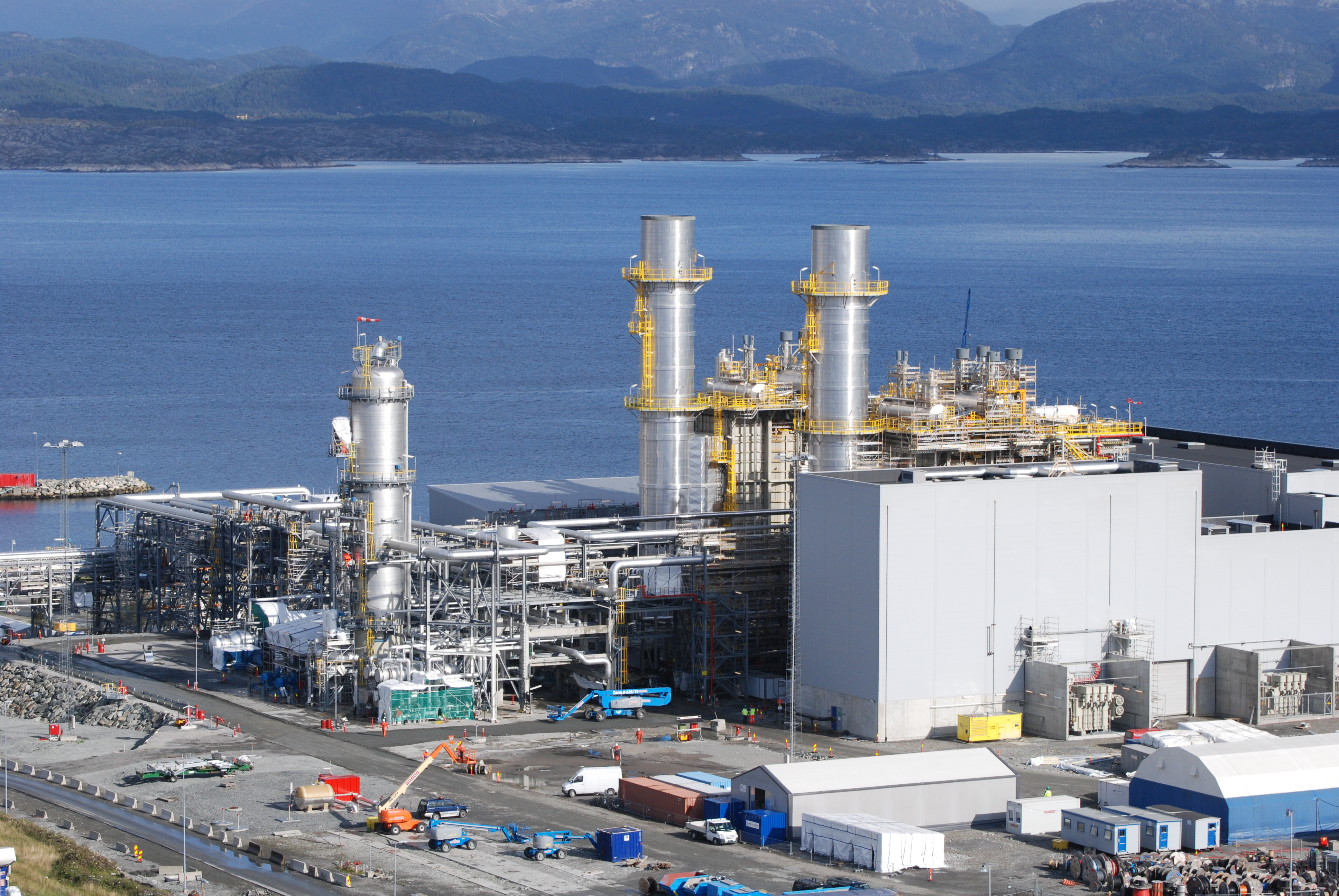 Norwegian Gas Power Plant In Mongstad Meeting Its End