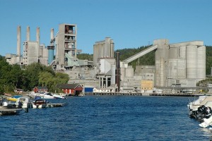 Norcem cement facility with CCS in Brevik, Norway