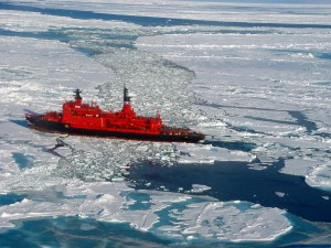 Nuclear icebreaker yamal
