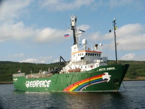 arctic sunrise big
