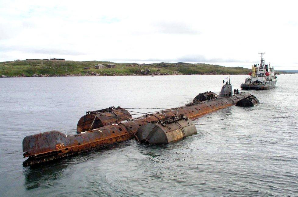 Radiological survey of sunken K-159 finally puts to sea after mechanical delays - Bellona.org