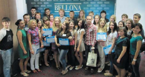 Winners of Bellona;s Ecojurist 2013 competition. (photo: ERC Bellona)