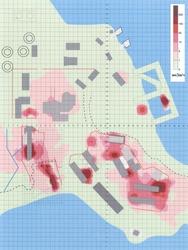 Levels of gamma-ray radiation in Andreyeva Bay (Bodytext image)