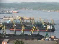 Угольные причалы в Мурманском торговом порту (Frontpage ingress image)