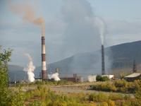 выбросы плавильных цехов в поселке Никель Мурманской области