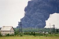 """Пожар на полигоне """"Красный Бор"""" (Frontpage ingress image)"""
