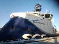 """""""Tikhonov"""" ship (Frontpage ingress image)"""
