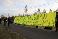 Protest against Finnish NPP (Frontpage ingress image)