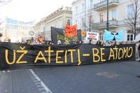 Демонстрация в Вильнюсе против АЭС в Балтийском регионе (Frontpage ingress image)