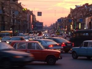 Saint Petersburg Traffic (Ingress image)