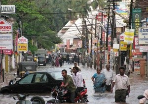 climate change flood india Thampanoor Trivandrum (Ingress image)