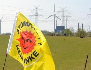 German antiatom flag (Ingress image)