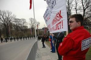 Oslo protest Bellona Murmansk (Ingress image)