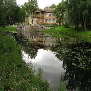 Лопухинский сад (Ingress image)