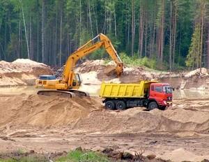 карьер добыча песка