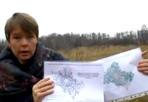 online video appeal to president Medvedev khimki forest (Ingress image)