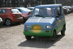 СЭМ электромобиль (Ingress image)