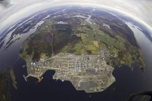 Gasskraftverket på Kårstø (Ingress image)