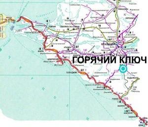 город Горячий Ключ (Ingress image)