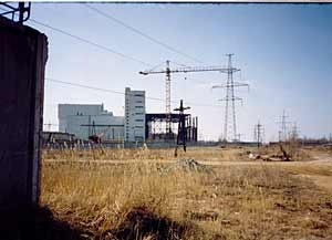 spent nuclear fuel repository Leningrad NPP (Ingress image)