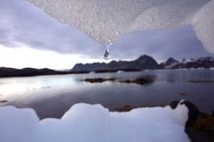 arctic seascape (Ingress image)