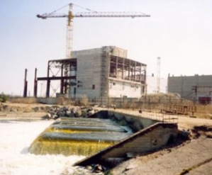 Dry storage facility under construction at the LNPP (Ingress image)