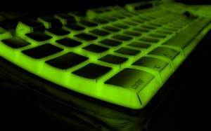 Green Keyboard (Ingress image)