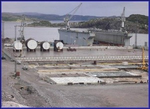 Russian-German decommissioning project in Sayda bay  (Murmansk region)