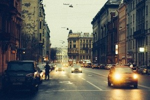 Saint Petersburg Traffic (Ingress image)