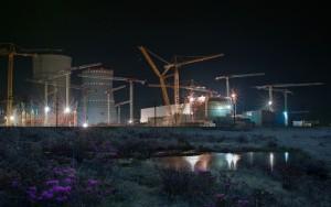 Сооружение ЛАЭС-2.
